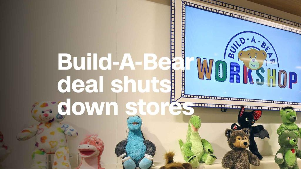 Families went so nuts for a Build-A-Bear sale that stores had to shut down