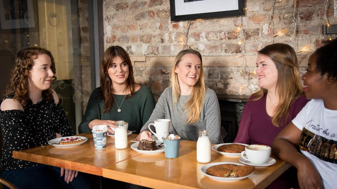 This app works like Tinder -- for female friendships