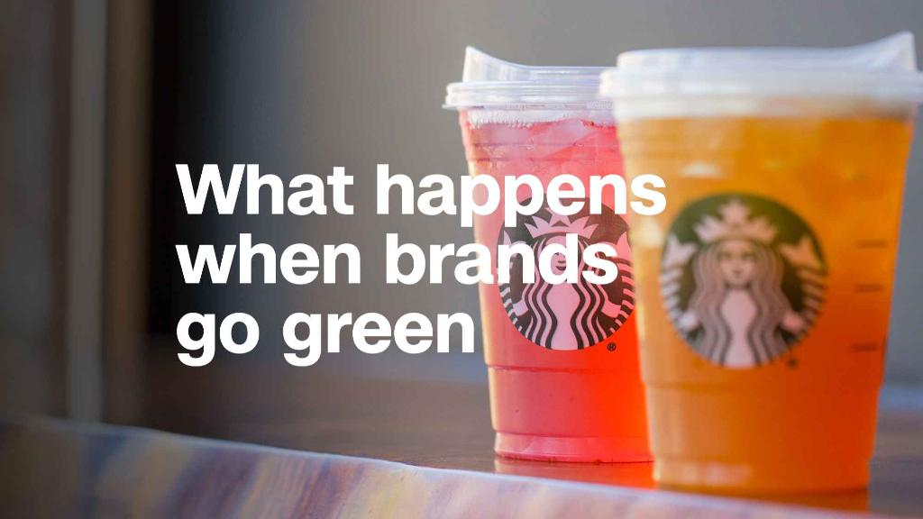 What happens when brands try to go green