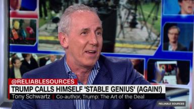 Tony Schwartz on Trump's 'meltdown'