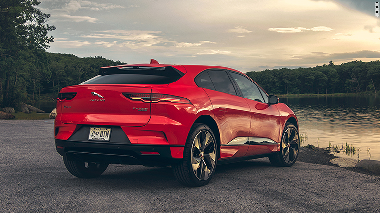 2019 jaguar I pace rear