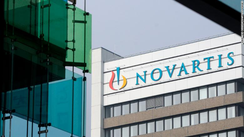 cnn.com - Alanna Petroff - First it was Pfizer. Now Novartis has frozen drug prices in the US