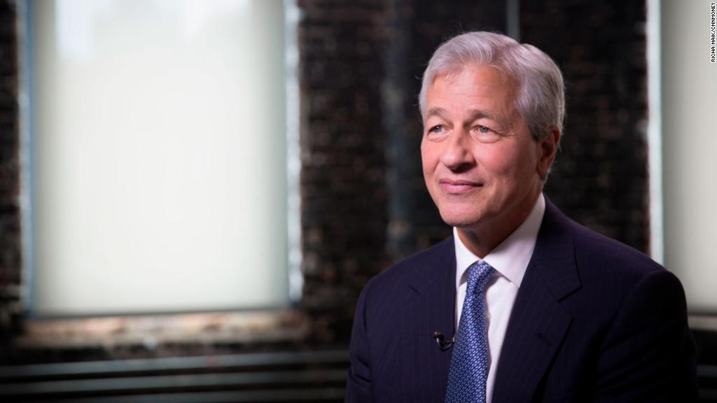 JPMorgan CEO on working with President Trump