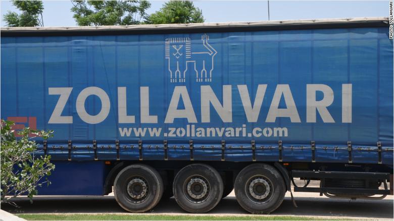 zollanvari carpets truck