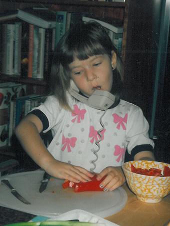 sally ekus childhood