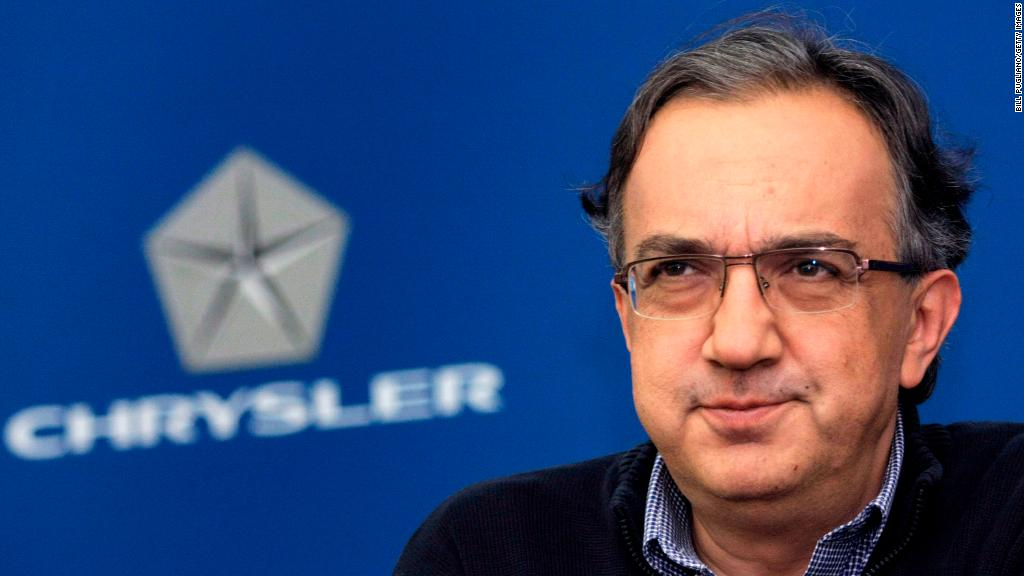 Sergio Marchionne, former Fiat Chrysler CEO, dies