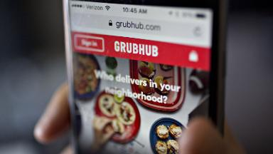Grubhub is winning the food delivery wars