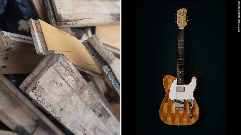 mark wallace guitars cadillac