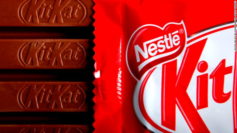 kitkat chocolate bar FILE RESTRICTED