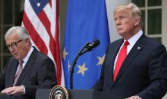 US and EU agree to work toward zero tariffs
