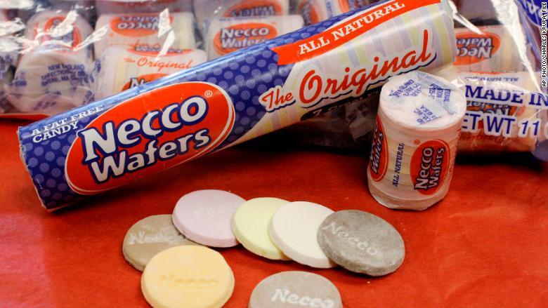 necco wafer factory shutdown