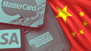 Why American credit card companies can't break into China