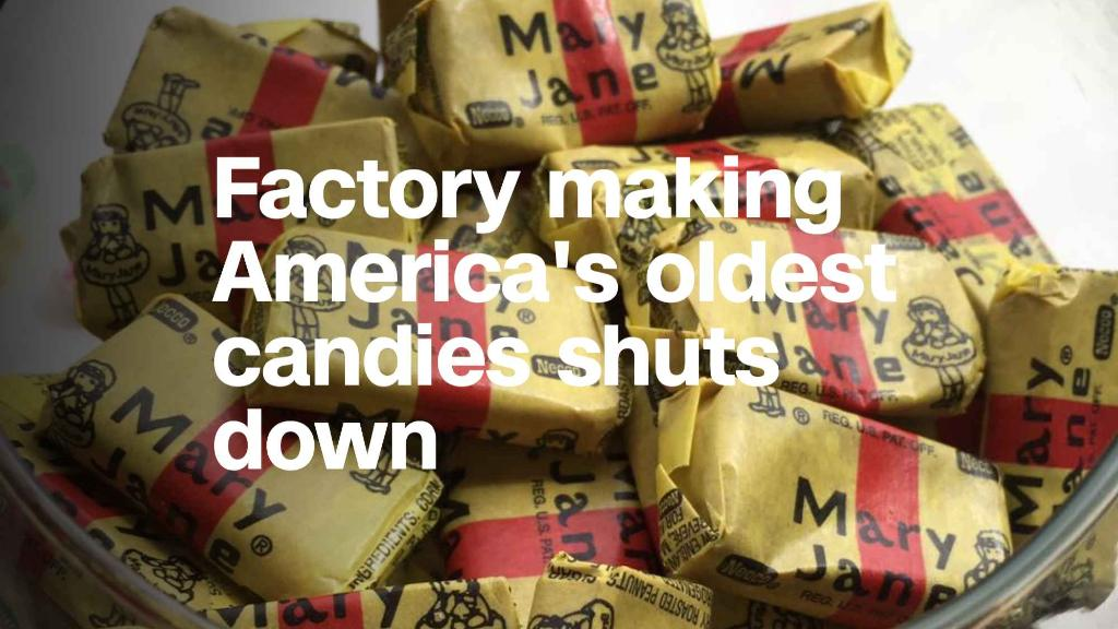 America's oldest candy factory shuts down