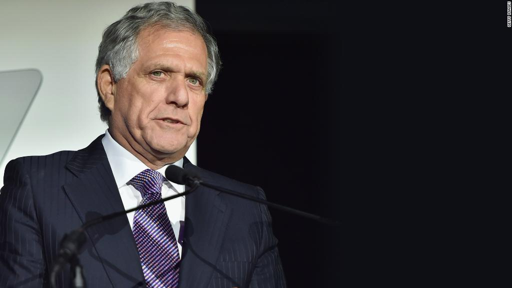 CBS negotiating Moonves' exit and Viacom merger standstill