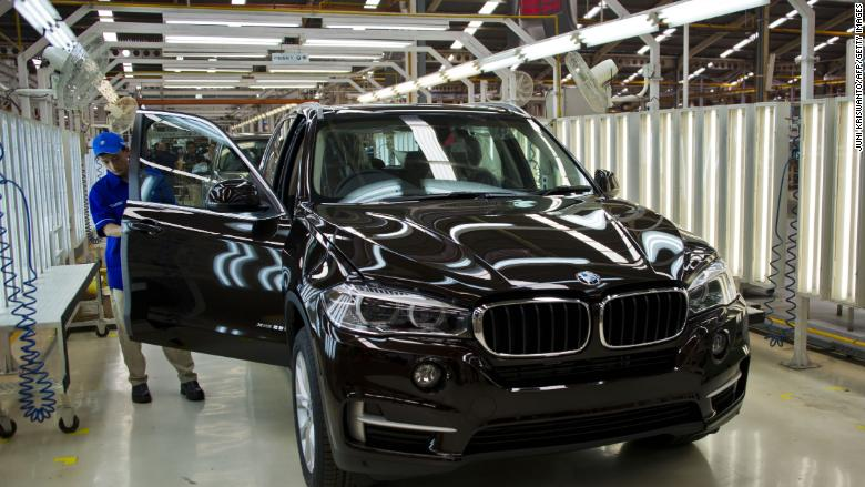 Bmw Is Hiking The Prices Of American Made Suvs In China