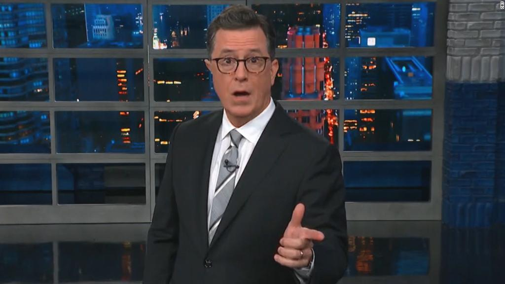Colbert shocked by CBS CEO allegations