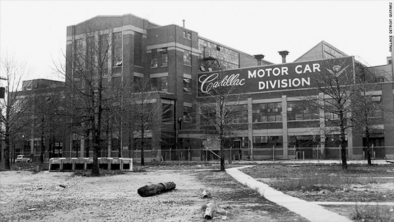cadillac stamping building