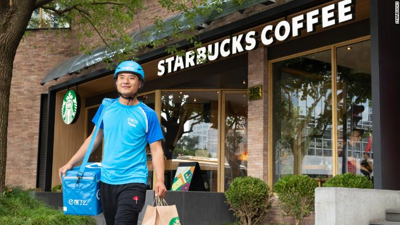 alibaba starbucks delivery