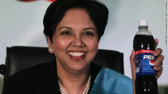 PepsiCo CEO Indra Nooyi is stepping down 9ae148343