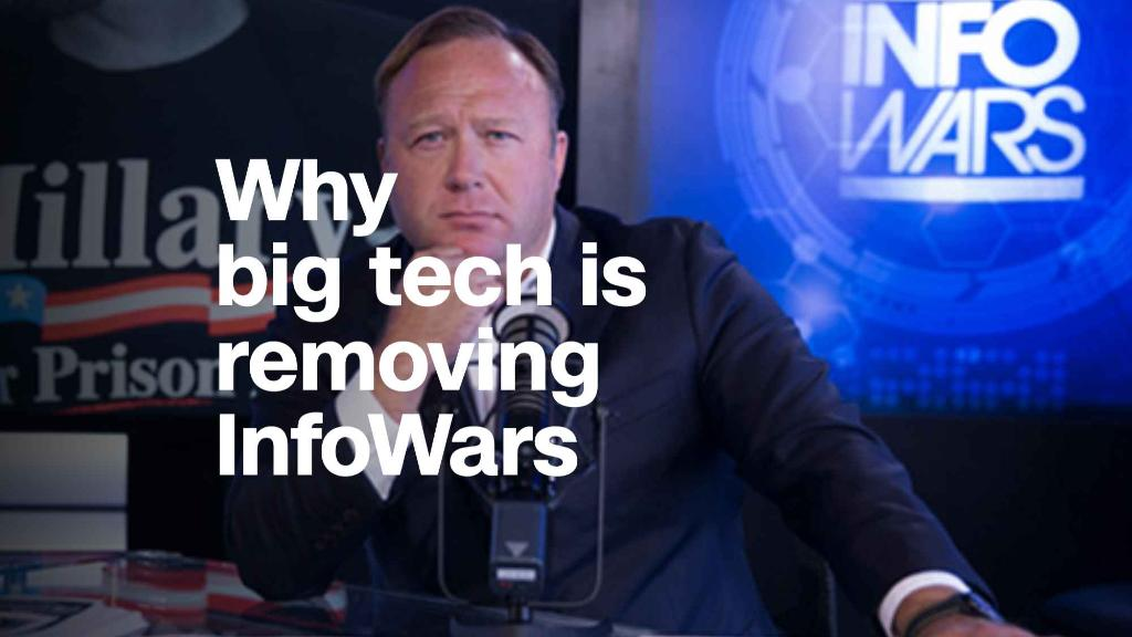 Why Facebook, YouTube and Apple are removing InfoWars content