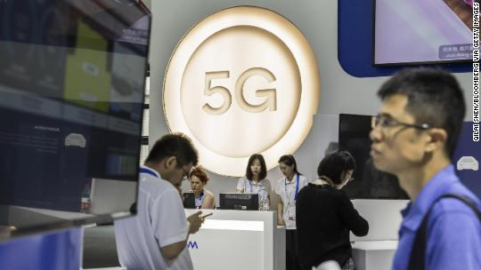 China is building a big advantage in the race for 5G