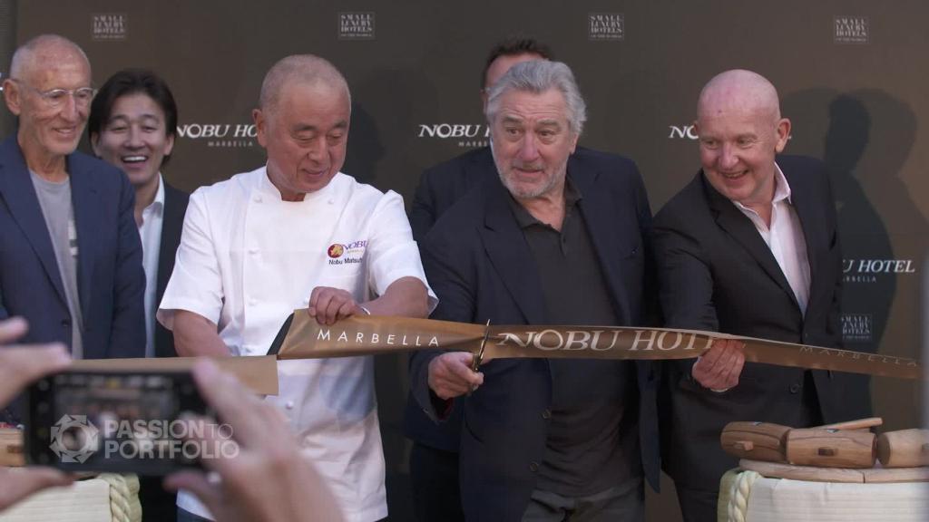 How Robert De Niro built the Nobu empire