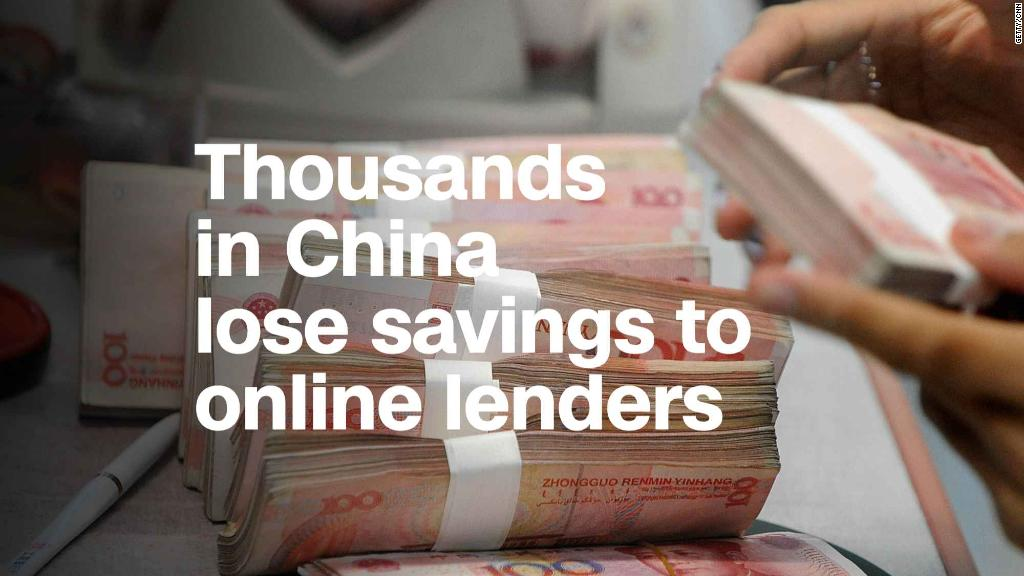 'My life is ruined': Inside China's online lending crisis