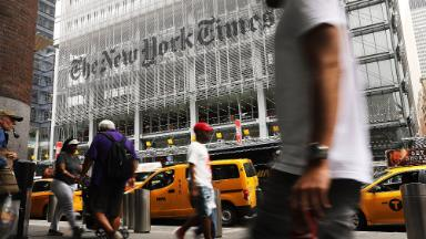 The New York Times' post-election subscription boom doesn't show signs of slowing