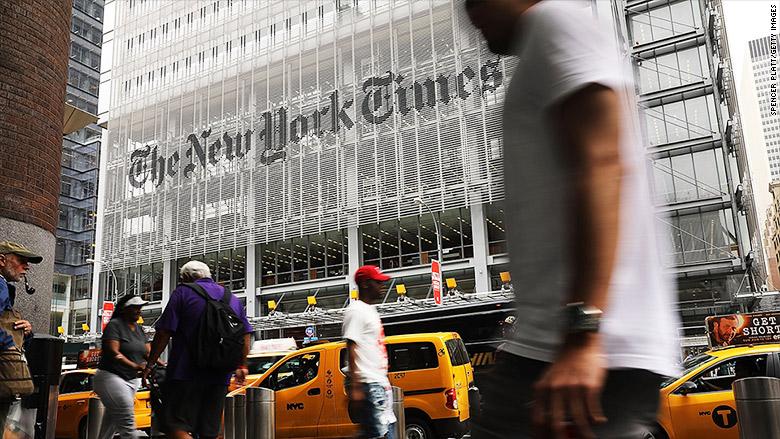 new york times building city street
