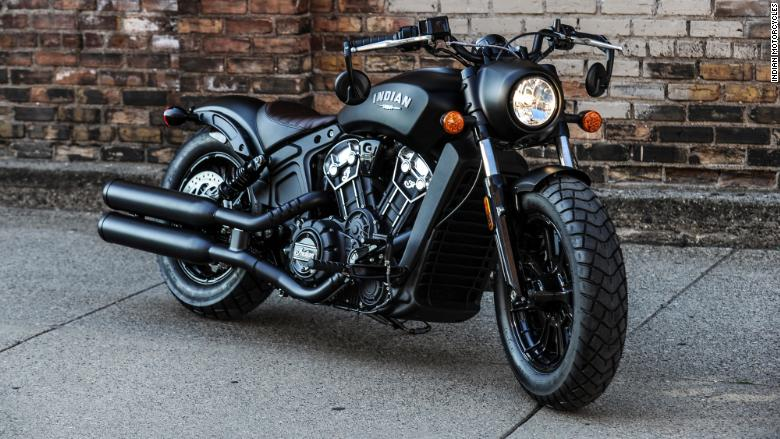 indian motorcycles scout bobber