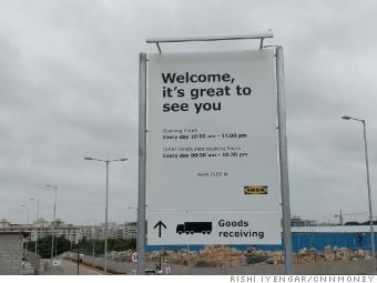 Ikea's first India store opens to customers
