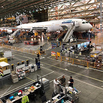 An exclusive tour of Boeing's gigantic jet factory