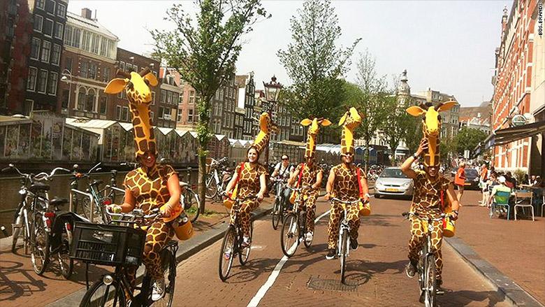 bos giraffe stunt