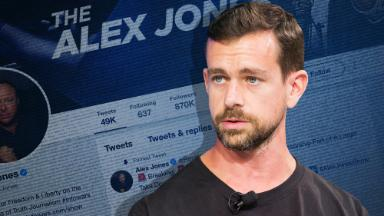Twitter says InfoWars hasn't 'violated our rules.' It looks like that's not the case