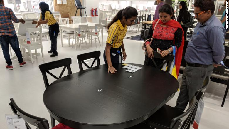 ikea india customer employee