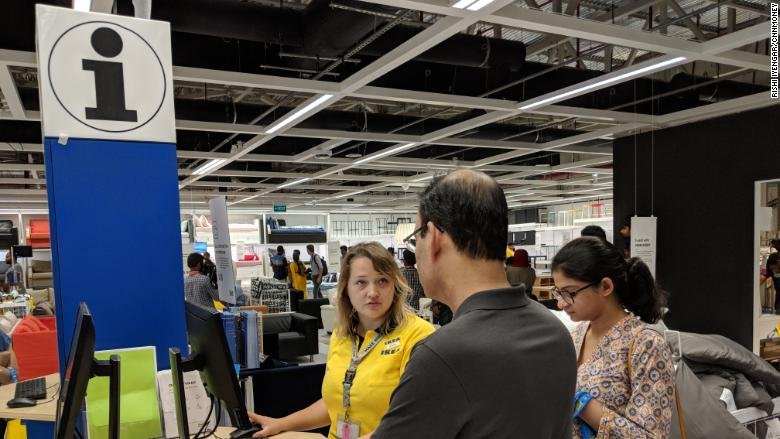 ikea india checkout