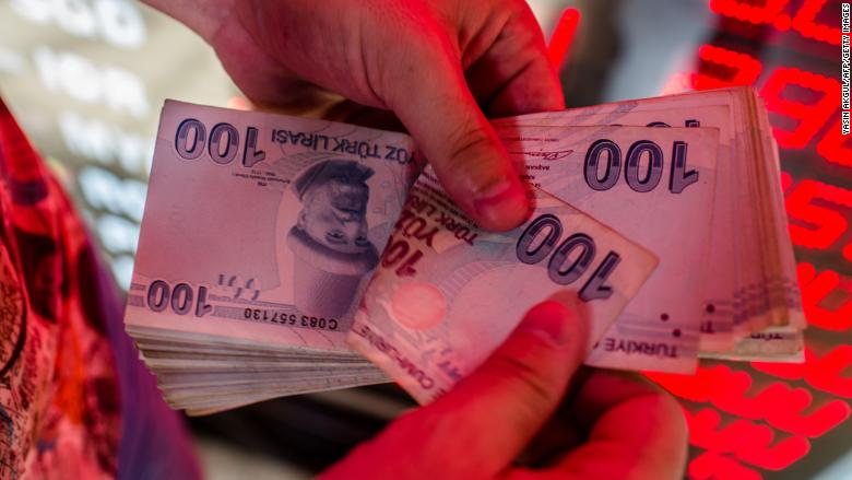 Drop in Turkish lira is making us a lot more money