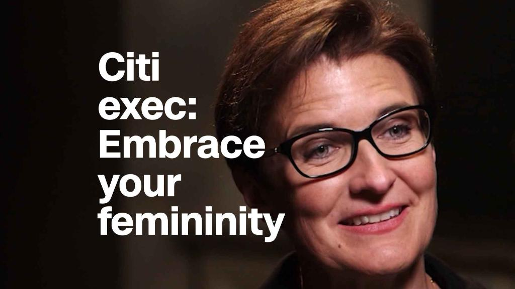 Citi exec to women in banking: Embrace your femininity