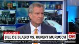 Bill de Blasio speaks out against Murdoch