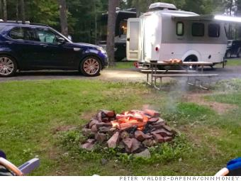 I went camping for the first time in Airstream's tiny new luxury trailer