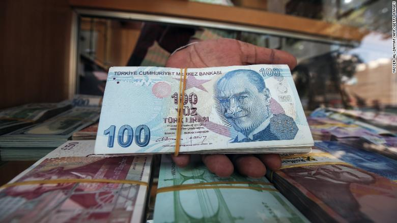 Turkey doubles tariffs on some USA imports; lira rallies