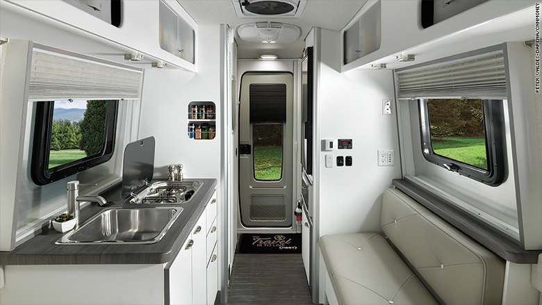 airstream nest interior