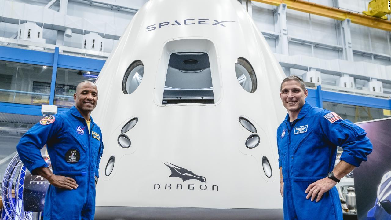 Inside SpaceX's first passenger spacecraft - Video ...