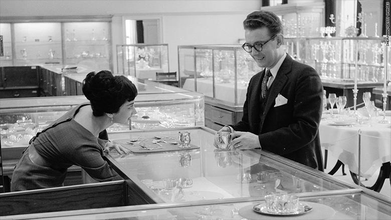 tiffanys circa 1955