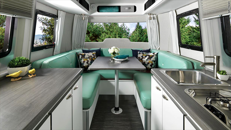 airstream kitchen interior