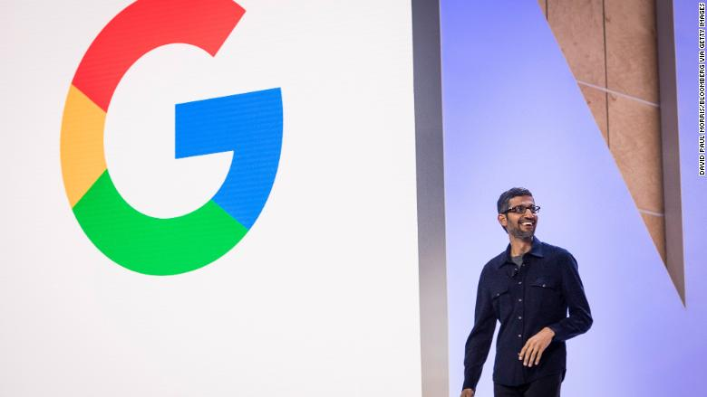 google ceo cloud next event RESTRICTED
