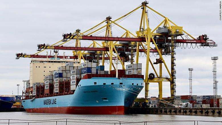 Maersk Line Container Ship To Sail Through Arctic