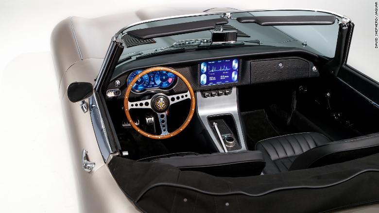 03 Jaguar Electric E Type