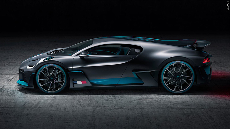 All Different Cars >> Bugatti reveals $6 million that's slower but more fun