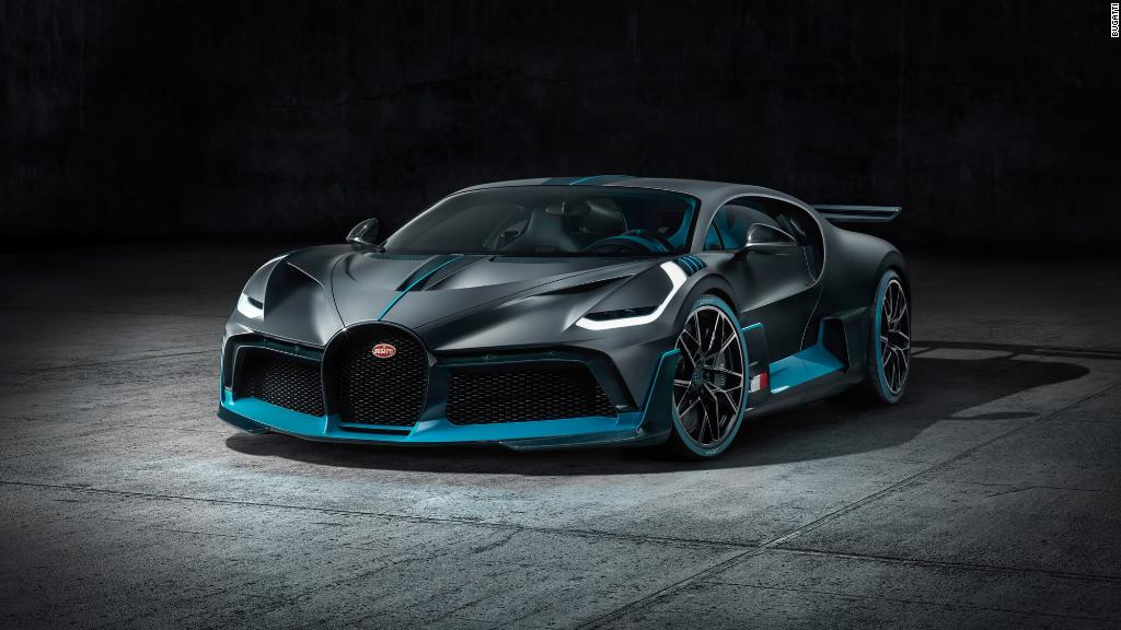 Bugatti's new 'hypercar' costs $5.8 million